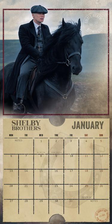 Calendar 2020 Peaky Blinders