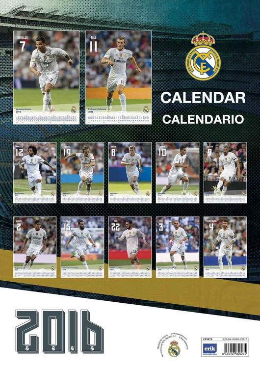 Real Madrid Calendario.Calendar 2020 Real Madrid Cf