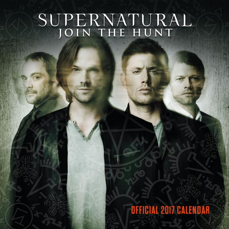 Calendar 2017 Sobrenatural