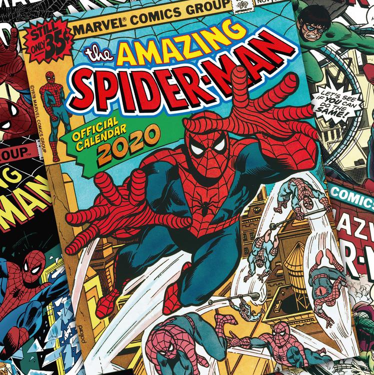 Calendar 2020  Spiderman