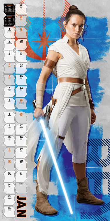 Calendar 2021 Star Wars: Episode 9