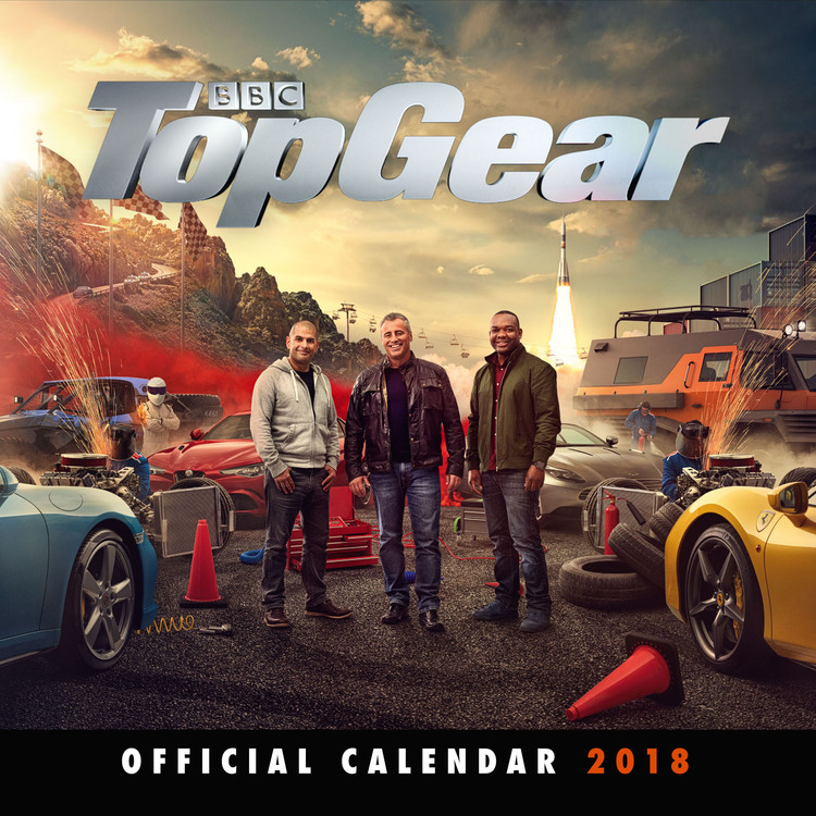 Calendar 2018 Top Gear