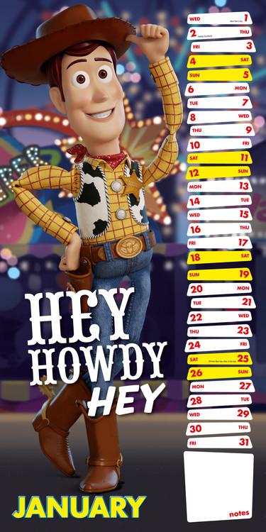 Calendar 2020  Toy Story 4