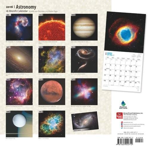 Calendrier Astronomique 2022 Astronomie   Calendriers 2022 | Achetez sur Europosters.fr