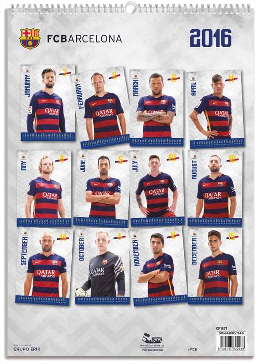 Calendrier Fc Barcelone 2022 FC Barcelona   Calendriers 2022 | Achetez sur Europosters.fr