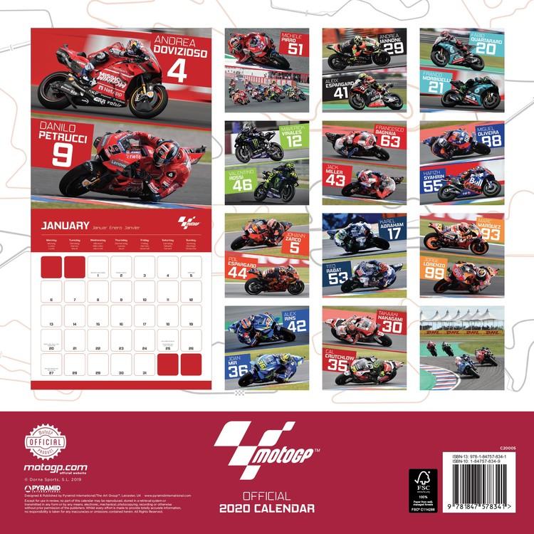 Calendrier Moto Gp 2022 Moto GP   Calendriers 2022 | Achetez sur Europosters.fr
