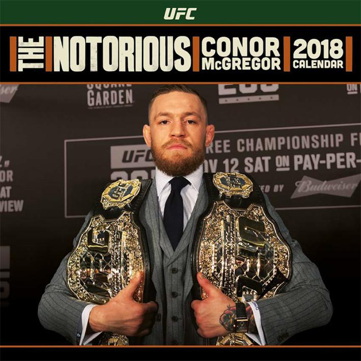 Calendrier Ufc 2021 UFC: Conor McGregor   Calendriers | Achetez sur Europosters.fr