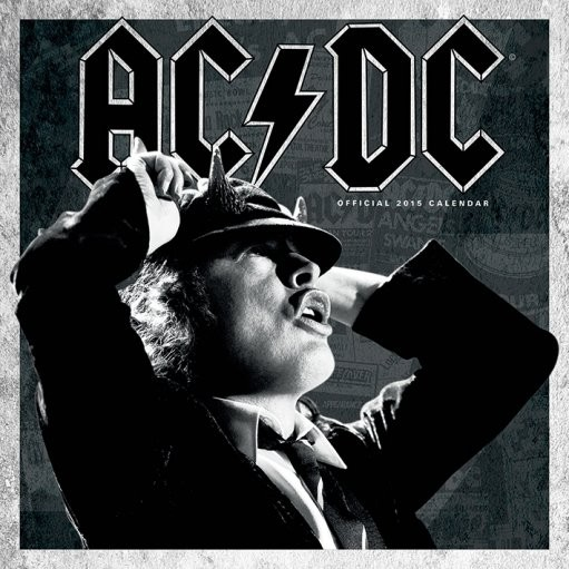 AC/DC Calendrier 2018