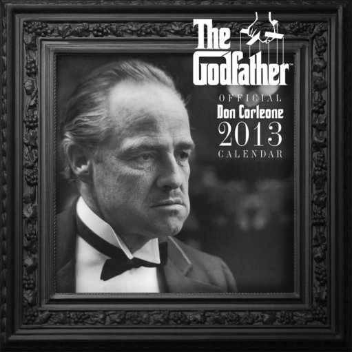 Calendar 2013 - GODFATHER Calendrier 2018