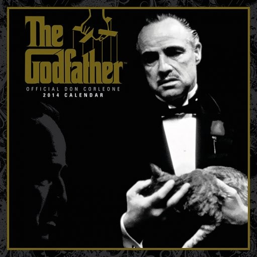Calendar 2014 - GODFATHER Calendrier 2018