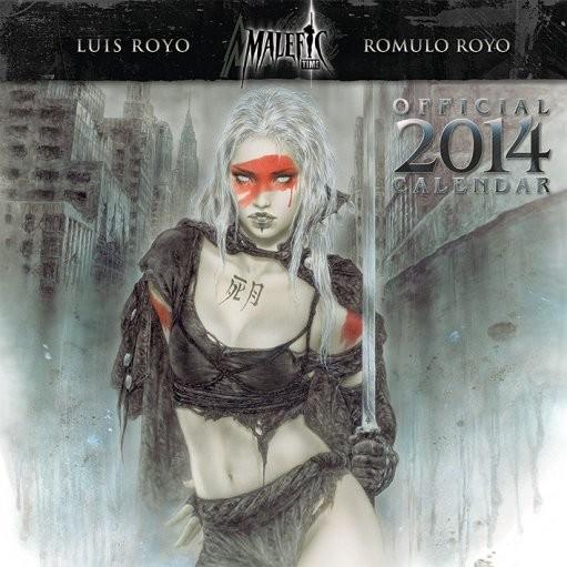 Calendar 2014 - LUIS ROYO Calendrier 2018