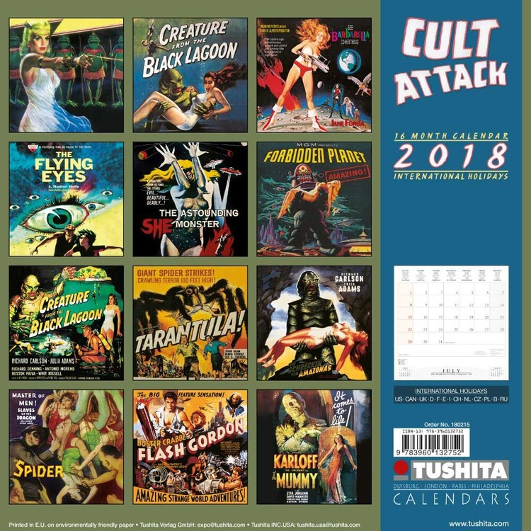 Cult Attack Calendrier 2019