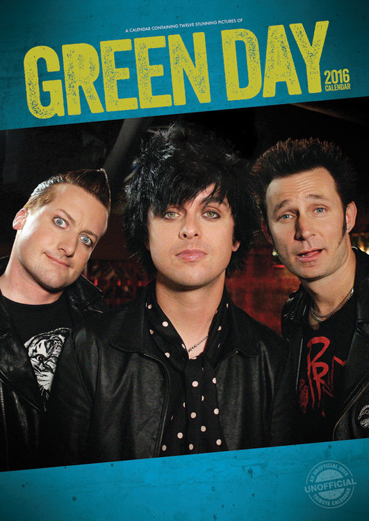 Green Day Calendrier 2018