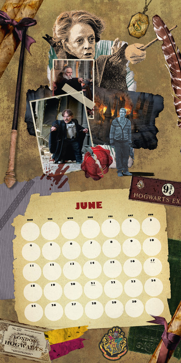 Calendrier 2022 Harry Potter Harry Potter   Calendriers 2022 | Achetez sur Europosters.fr