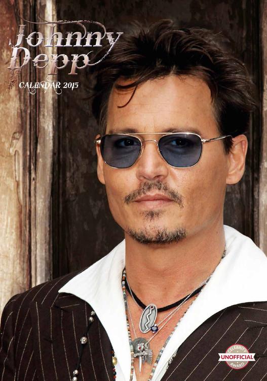 Johnny Depp Calendrier 2018