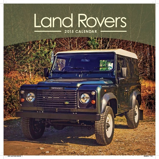 Land Rover Calendrier 2018