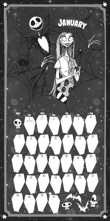Calendrier Manga 2020.Nightmare Before Christmas Calendrier 2020