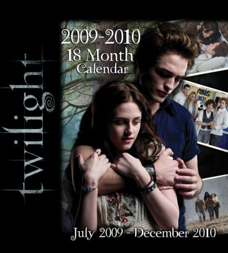 Official Calendar 2010 Twilight  Calendrier 2018