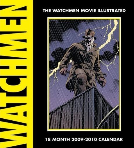 Official Calendar 2010 Watchmen Calendrier 2017