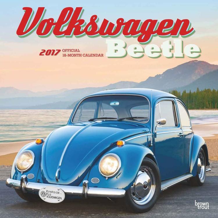 Volkswagen - Beetle Calendrier 2018
