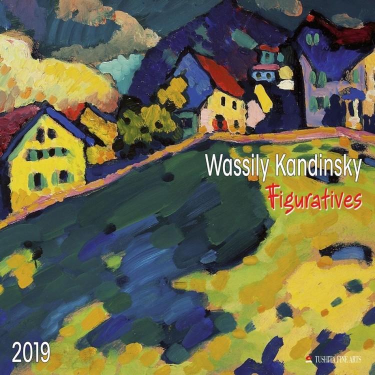 W. Kandinsky - Figuratives Calendrier 2019