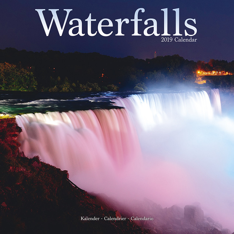 Waterfalls Calendrier 2019
