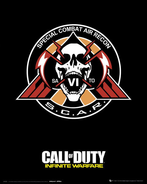 Αφίσα  Call Of Duty: Infinite Warfare - Scar