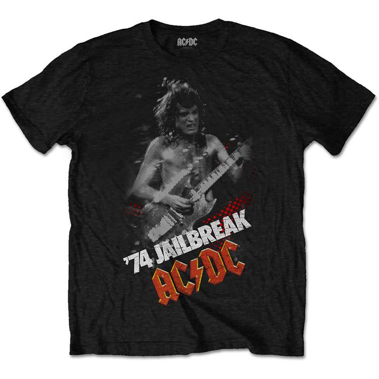 Camiseta  AC/DC - Jailbreak