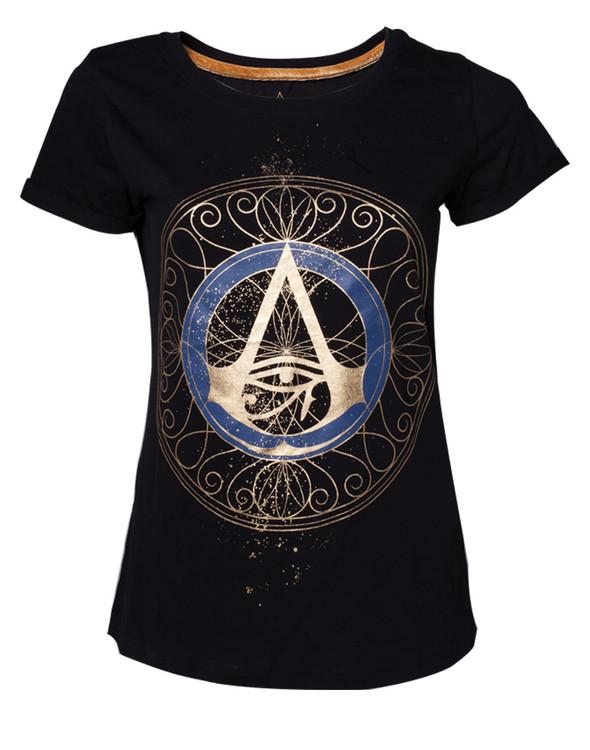 Camiseta Assassin's Creed Origins - Gold Spaller Logo