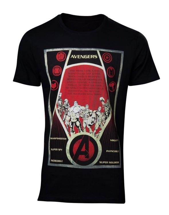 Camiseta  Avengers - Constructivism