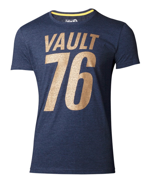 Camiseta  Fallout 76 - Golden 76