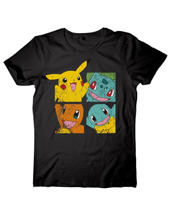 Camiseta  Pokemon - Pikachu and Friends