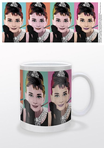 Audrey Hepburn - Pop Art Cană