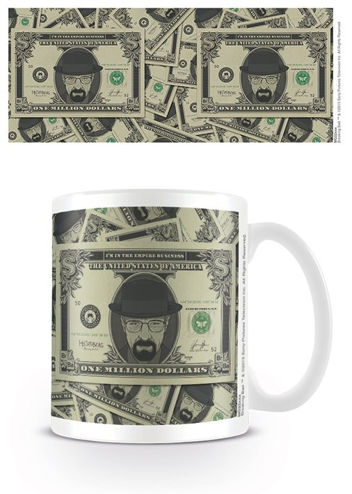 Breaking Bad - Heisenberg Dollar Cană