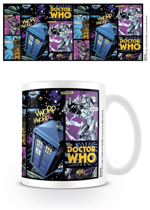 Doctor Who - Comic Strip Cană