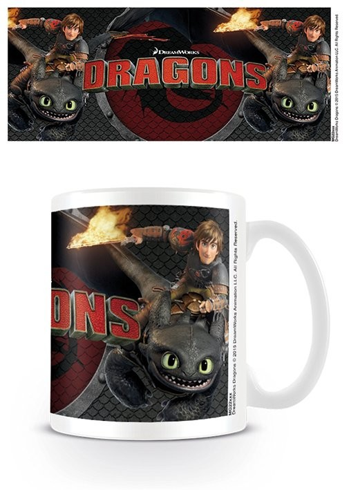 Dragons - Toothless and Hiccup Cană
