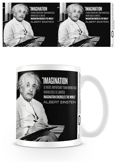 Einstein - Imagination Cană