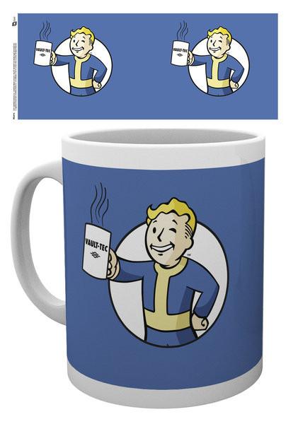 Fallout - Vault Boy Holding Mug Cană