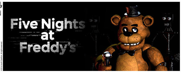 Five Nights At Freddy's - Logo Cană