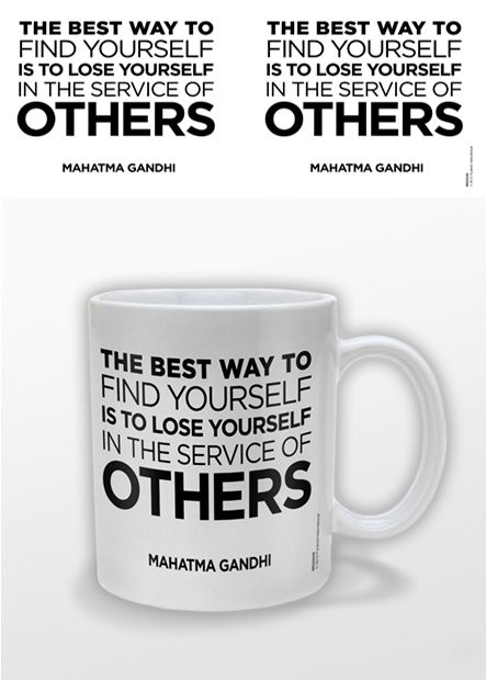 Gandhi – Service of Others Cană