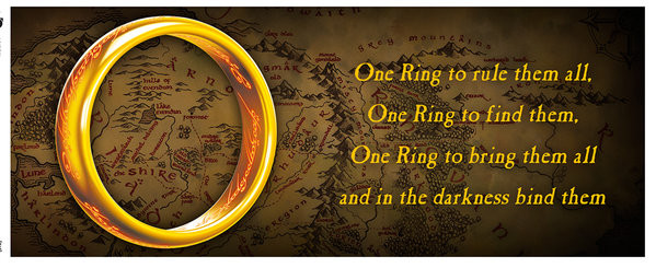 Cană Lord of the Rings - One Ring