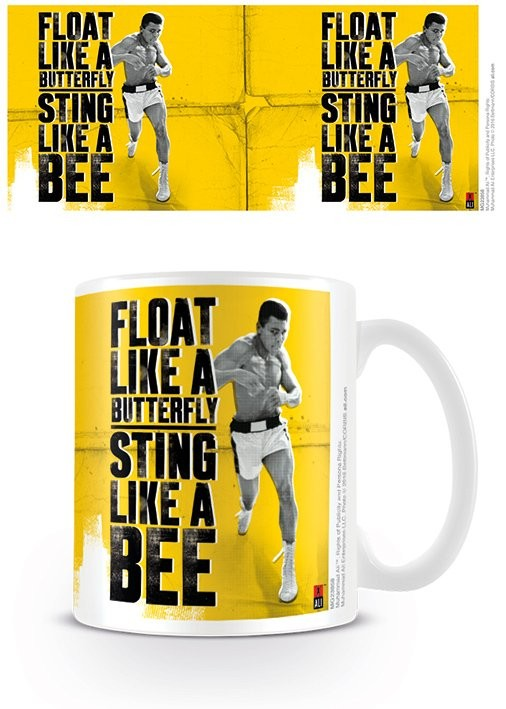 Cană Muhammad Ali - Float like a butterfly,sting like a bee