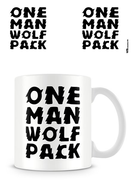 One Man Wolf Pack Cană