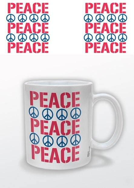 Peace Cană