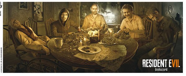 Resident Evil - Re 7 Family Cană