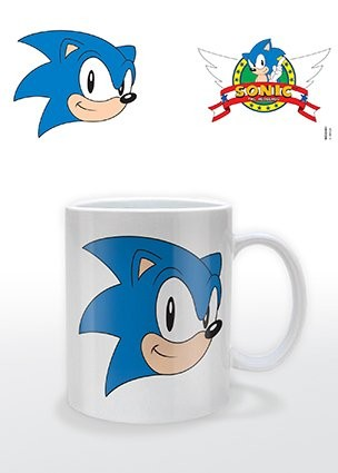 Sonic The Hedgehog - Logo Cană