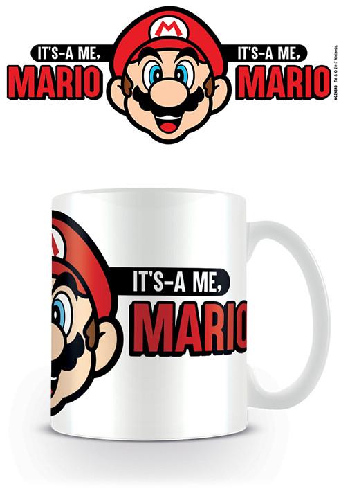 Super Mario - It's A Me Mario Cană