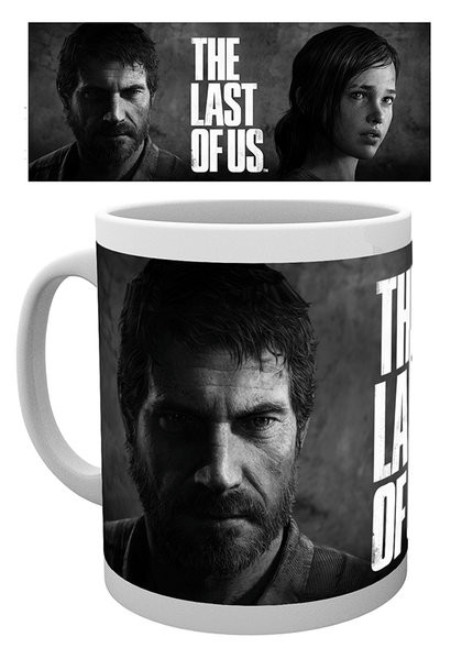 The Last of Us - Black And White Cană
