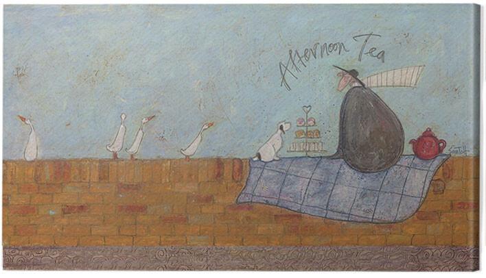 Obraz na plátne Sam Toft - Afternoon tea