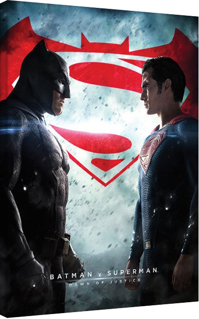 Obraz na plátně Batman vs Superman